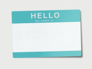 Name Tag Printing